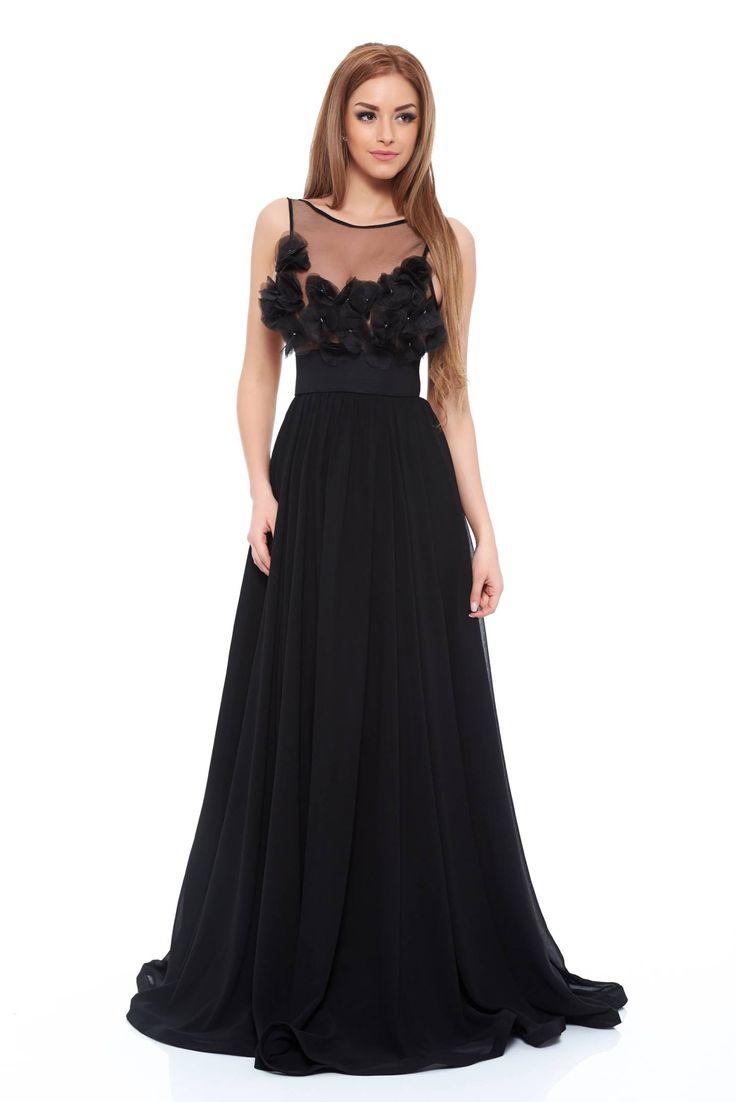 Ana Radu Luxurious Black Dress