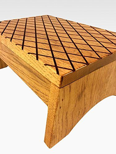 Bed Step Stool: Amazon.com: Step Stool Solid Hardwood In Mahogany By
