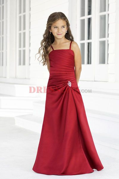 Would look awesome on Aly!! junior bridesmaid dresses