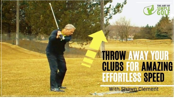 Throw Your Clubs To Increase Golf Swing Speed And Consistency!