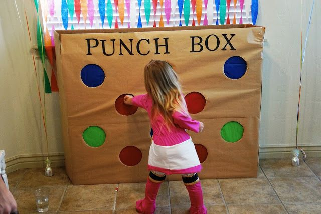 Party punch box - DIY