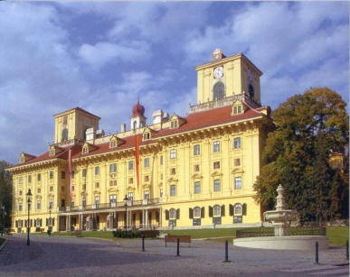 """Esterhazy Palace, Eisenstadt, Austria. This was Joseph Haydn's home for many years. I coming here over the years I was based in Vienna. I remember hearing a concert of Bach & Haydn's works, in the same hall they were performed in by him in the 1700's. That was a very big experience. It inspired my solo violin suite """"New Letters To Esterhazy"""" which I recorded for the ABC in Melbourne in 2007."""