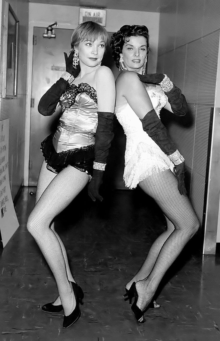 Shirley MacLaine and Jane Russell
