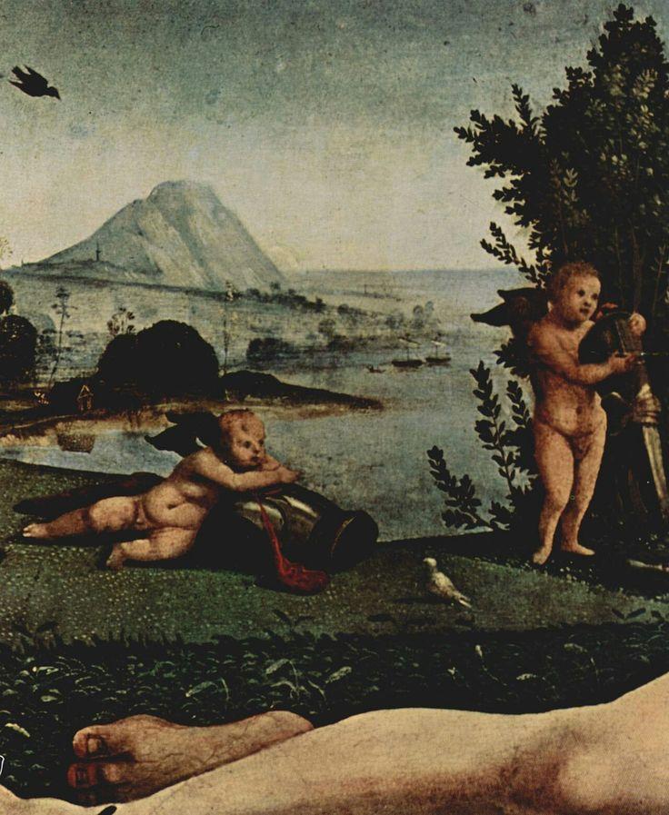 Venere, Marte e Amore. 1490 Gemäldegalerie Berlin