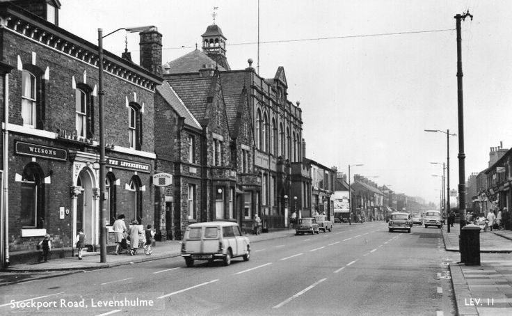 1960s view of Stockport Road