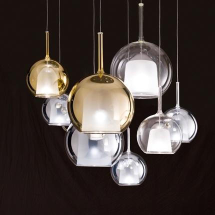 Penta Glo pendant lamp by Carlo Colombo £292
