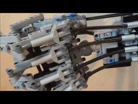 The Most Impressive Lego Terminator Arm You've Ever Seen