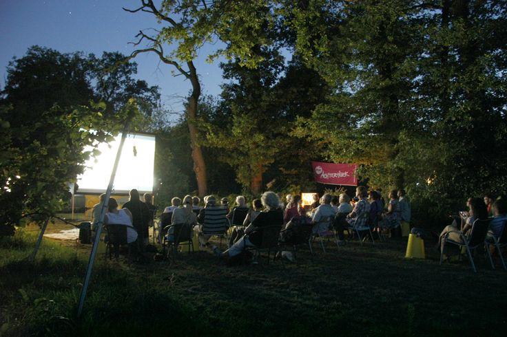 Openlucht bioscoop Wijngaard de Reeborghesch