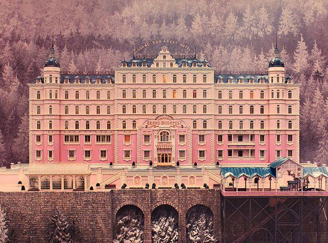 Les decors culte au cinema The Grand Budapest Hotel (W. Anderson, 2013)