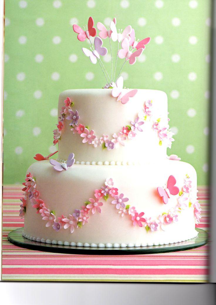 Torta simple y colorida