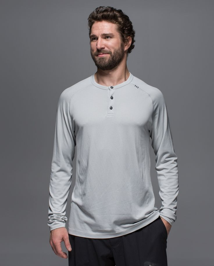 We engineered this   long sleeve, all-sport shirt with anti-stink technology so you'll never have to pretend that gym bag isn't yours.  We added strategic body-mapped ventilation to bring on the breeze where you heat up the most.