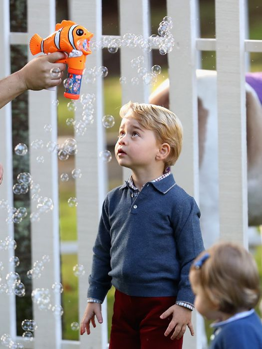 How Prince George's two playdates compared