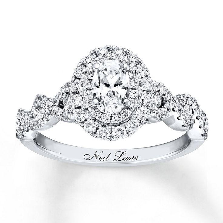 Neil Lane Bridal Diamond Ring 11/6 cts tw 14K White Gold