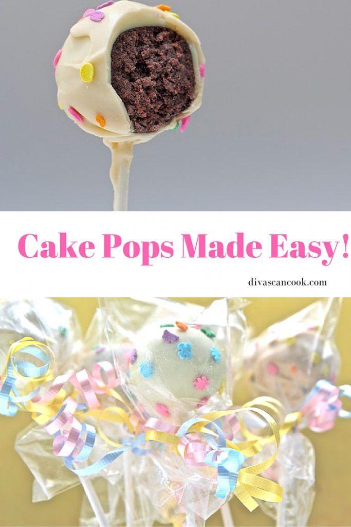 how to make birthday cake cake pops