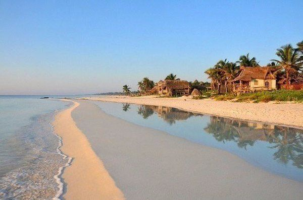 Чистейший пляж, Тулум, Мексика
