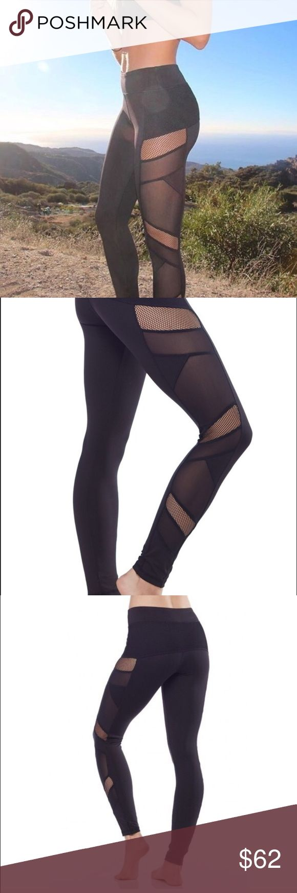 LAST 1!! SALE TODAY ONLY Sexy Mesh Leggings  These are so hot right now!! You can wear them to yoga, for running, or just anytime you want to look casual and awesome   they really are super flattering and very comfortable. Electric Yoga is Beverly Hills-based and retail price is $108 get them while they're in stock  price is firm unless bundle! Electric Yoga Pants Leggings