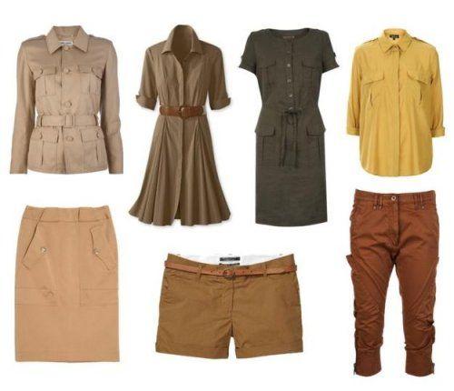 Стиль сафари! Одежда для городских джунглей!