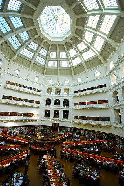 State Library, Melbourne.