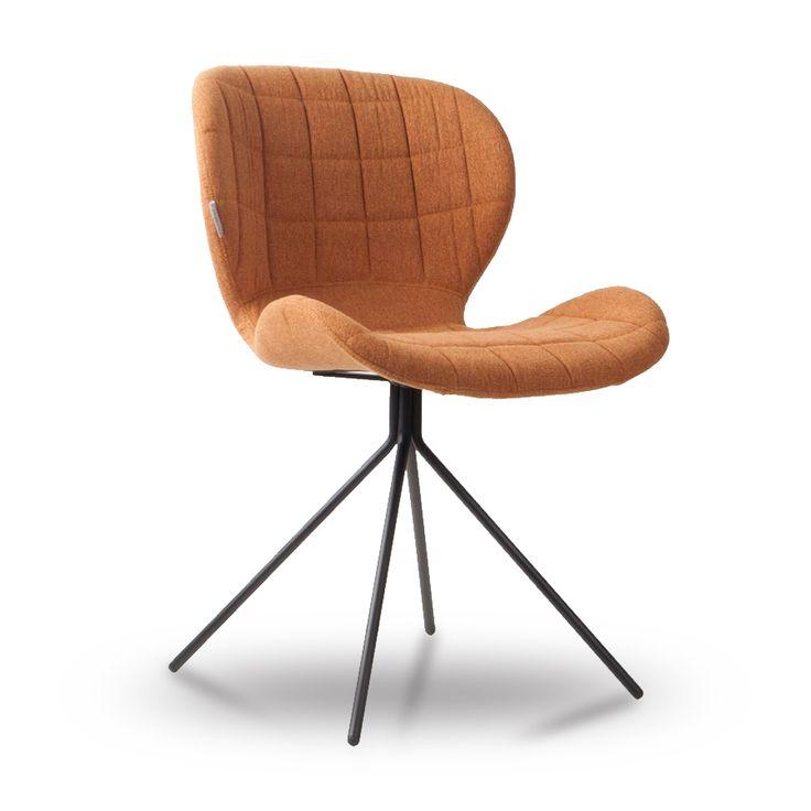 Chaise au look vintage, confortable et design !