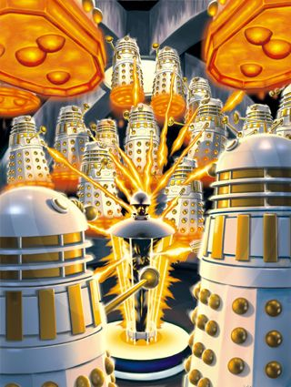 'Doctor Who - The DVD Files' - #61 - 'The TV Movie.' - I drew this in Photoshop from layouts by Lee Sullivan.