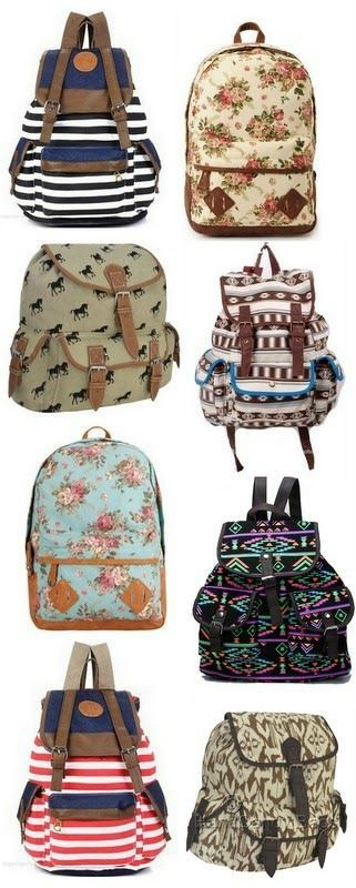 Adorable backpacks for $13 or LESS!