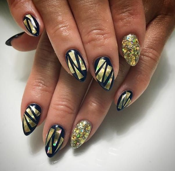 broken glass nails are the latest manicure trend and theyure as badass as they