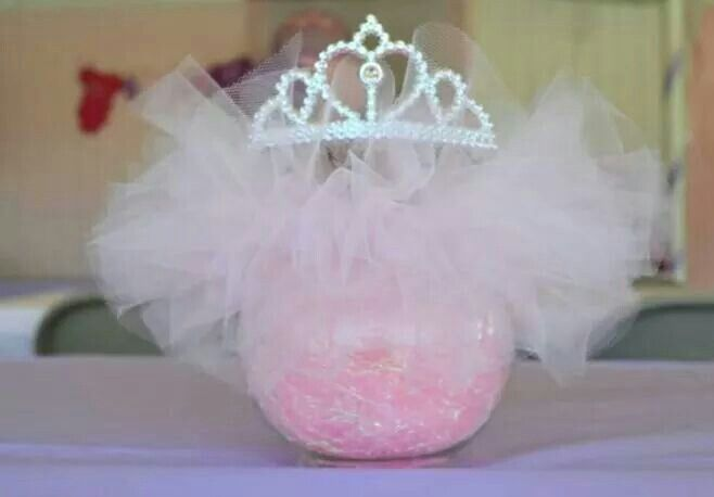 Baby Shower Centerpiece Theme Tutus Amp Tiaras My Projects