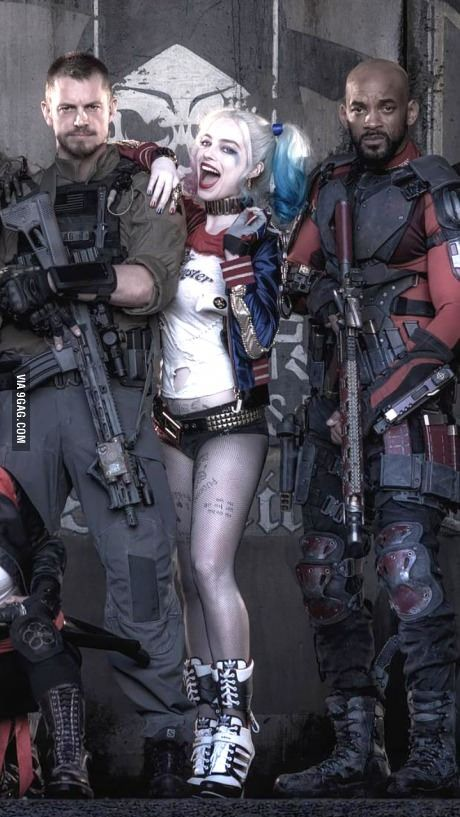 New Harley Quinn!  Suicide squad movie!