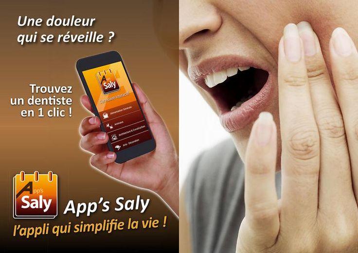 App's Saly, l'annuaire de Saly. Appli gratuite :  https://play.google.com/store/apps/details?id=com.mywebappli.acces.app57864207d12f4&hl=fr  Vous recherchez un médecin, un dentiste, un pharmacien... Installez App's Saly sur votre portable (smartphone ou tablette, android ou apple) ... ...et ayez les pages jaunes du sénégal dans votre mobile.