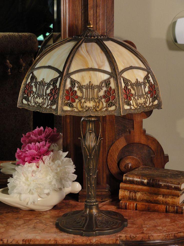 283 best Table lamps images on Pinterest   Antique lamps, Antique ...