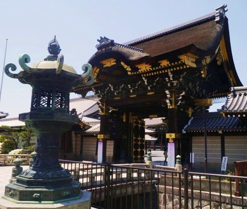 Nishi Honganji Temple, Kyoto, Japan