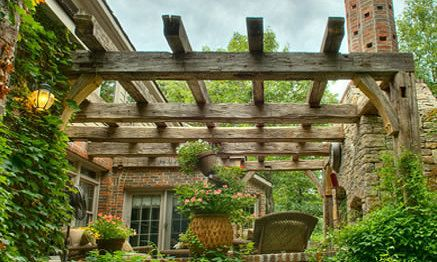 17 best images about pergola on pinterest gardens outdoor living and fireplaces - Balkon arbor ...