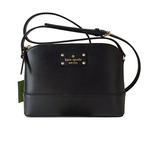 Kate Spade Wellesley Hanna Black Leather Crossbody WKRU28... https://www.amazon.com/dp/B00OGSEPAI/ref=cm_sw_r_pi_dp_gAVGxbY0YET26