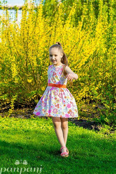 Хлопковое платье в цветочек с красным пояском – must have этого сезона! Это не просто наряд, а настоящая летняя радость!  #panpani #панпани #детскаямода #пан #пани #модница #модник #мода #стиль #платье #качество www.panpani.com.ua