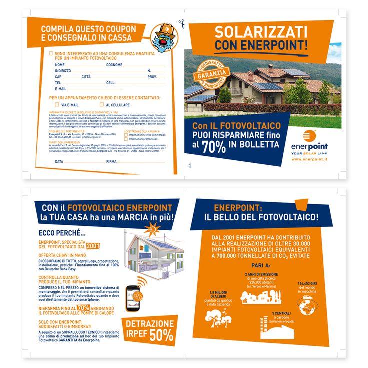 ENERPOINT - Brochure Promozionale Impaginazione grafica Creativa - fotoritocco