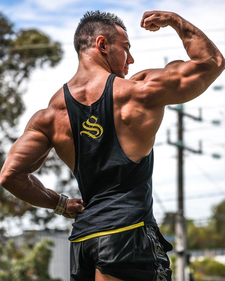 @strongliftwear Camo Cooltech Taperback - Yellow www.strongliftwear.com