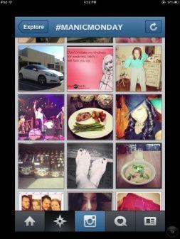 Sunday thru Saturday - Instagram Daily Hashtags