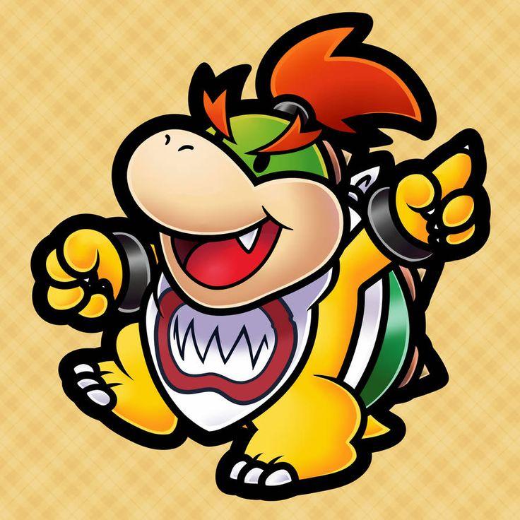 Bowser Jr. (Paper Mario TTYD Style) by https://www ...