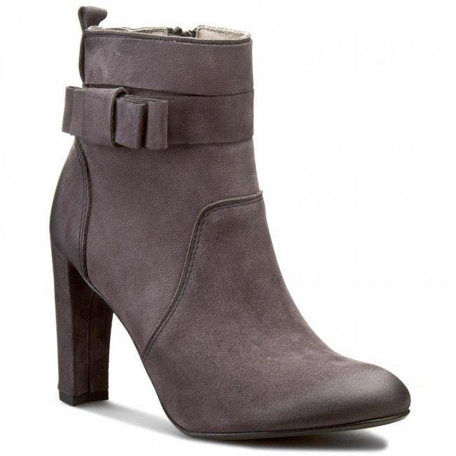 Členková obuv CARINII - B3688 D55-000-PSK-B30