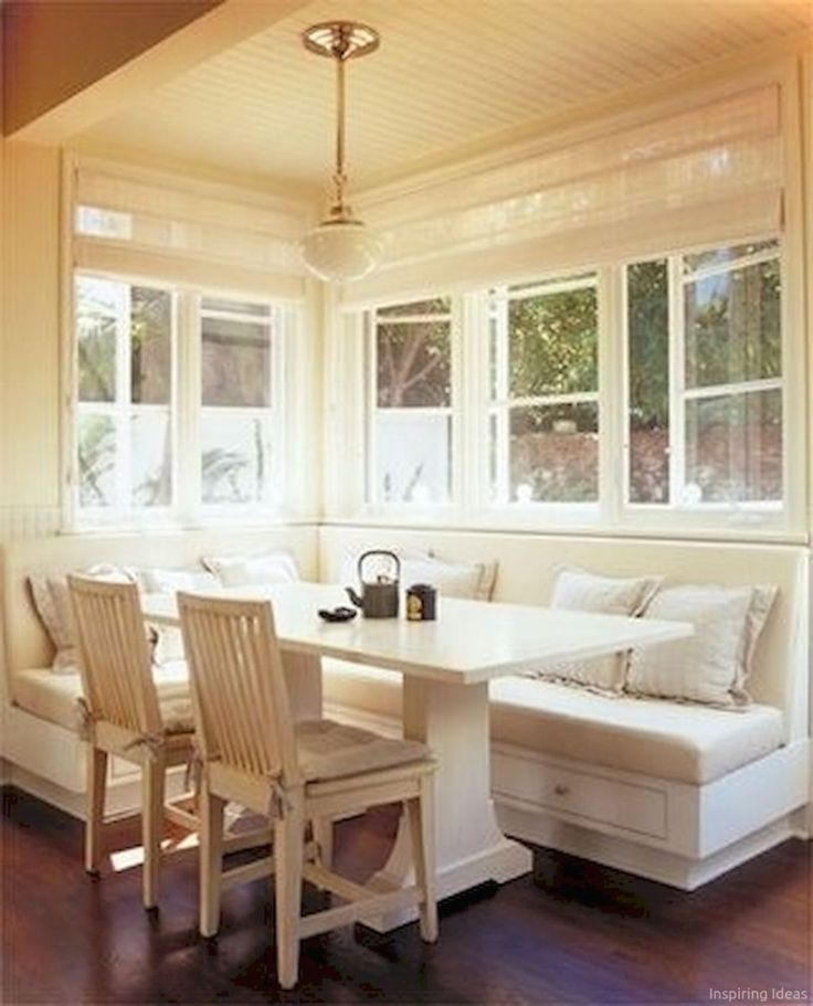 7 Nice Banquette Sitting Ideas for Kitchen