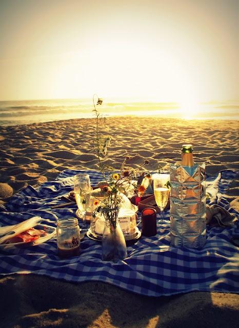 Favorite place, beach, sunset