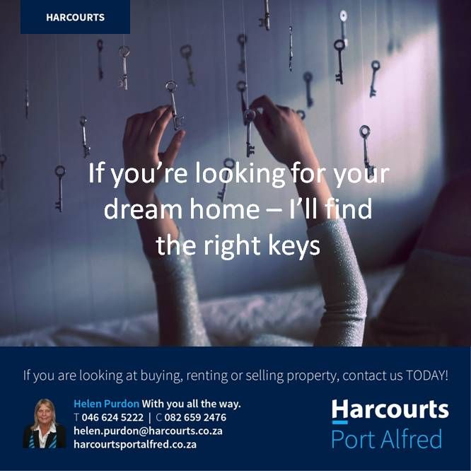 Looking For Your Dream Home in Port Alfred, Eastern Cape, South Africa? Call me #Harcourts #PortAlfred #BuyingAHome #PropertiesForSaleinPortAlfred #HereWeAre #BetterInBlue
