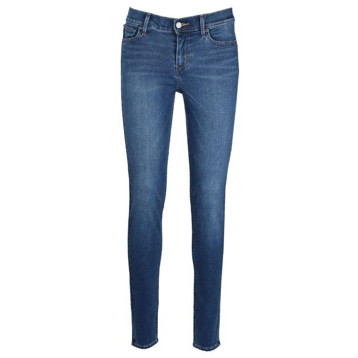 #Damen Levis 710 Damen Jeans Super Skinny darling blue, 05415313105833