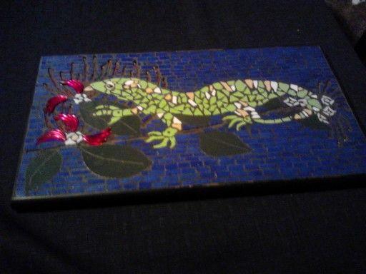 Mosaic by artist Jan Mcleod NZ