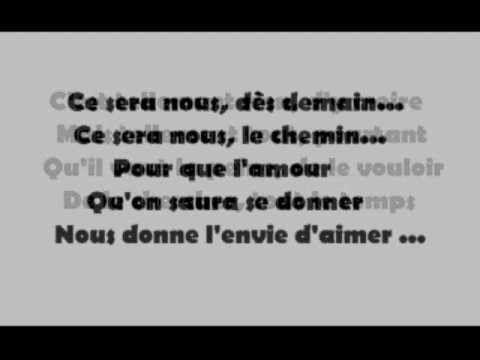 L'envie d'aimer-Daniel Levi avec paroles - YouTube