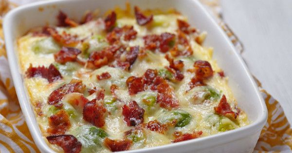 For Those Of You Who Don't Like Brussel Sprouts, This Cheesy Casserole Will Change Your Mind! – 12 Tomatoes