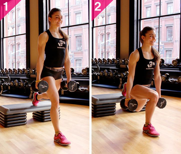 Grab your weights: Here's how to do Bulgarian Split Squats