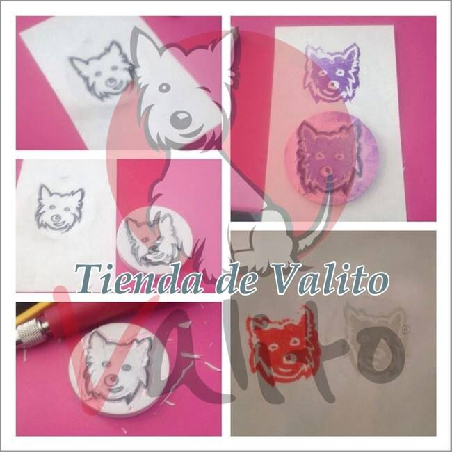 #ValiTimbre Hand Made Made by Me #Stamp #Valito
