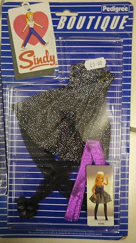 Pedigree Sindy Boutique 1984 Party Piece Outfit | eBay