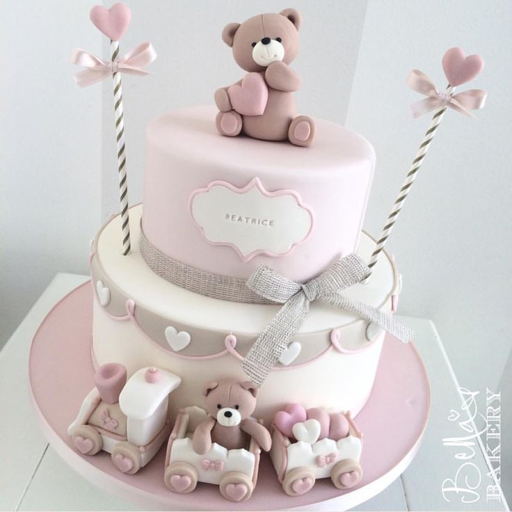 85 Best Teddy Bear Party Images On Pinterest Fimo Cake